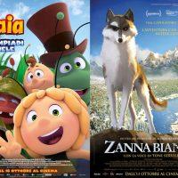 ZANNA BIANCA e L'APE MAIA, tornano al Cinema