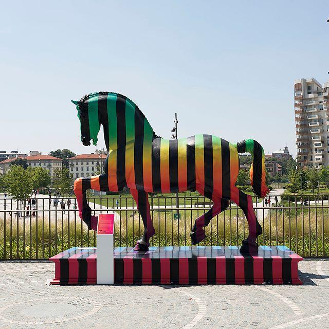 Il Cavallo di Leonardo a spasso per Milano
