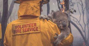 Australia Maxi Incendio Sotto Controllo