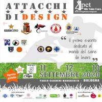 A BOLOGNA: Attacchi di Design, primo evento dedicato al mondo del Cane da Lavoro e al Cane da Utilità e Difesa,