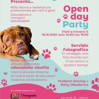Domenica 18 Ottobre; Open Day Party! al Fido Village di Lissone