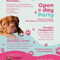 Domenica 18 Ottobre; Open Day Party! al Fido Village di Lissone