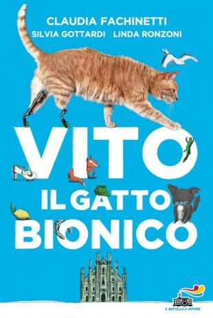 """VITO il Gatto Bionico; Il micio rosso che insegna a """"NON MOLLARE MAI"""""""