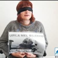 Vladimir Luxuria accanto agli Animalisti Italiani per difendere il diritto alla vita dei macachi