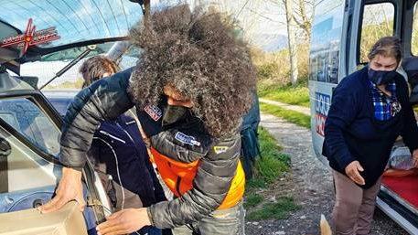 Nuova Missione per il 1° Moto Club Animalista d'Italia
