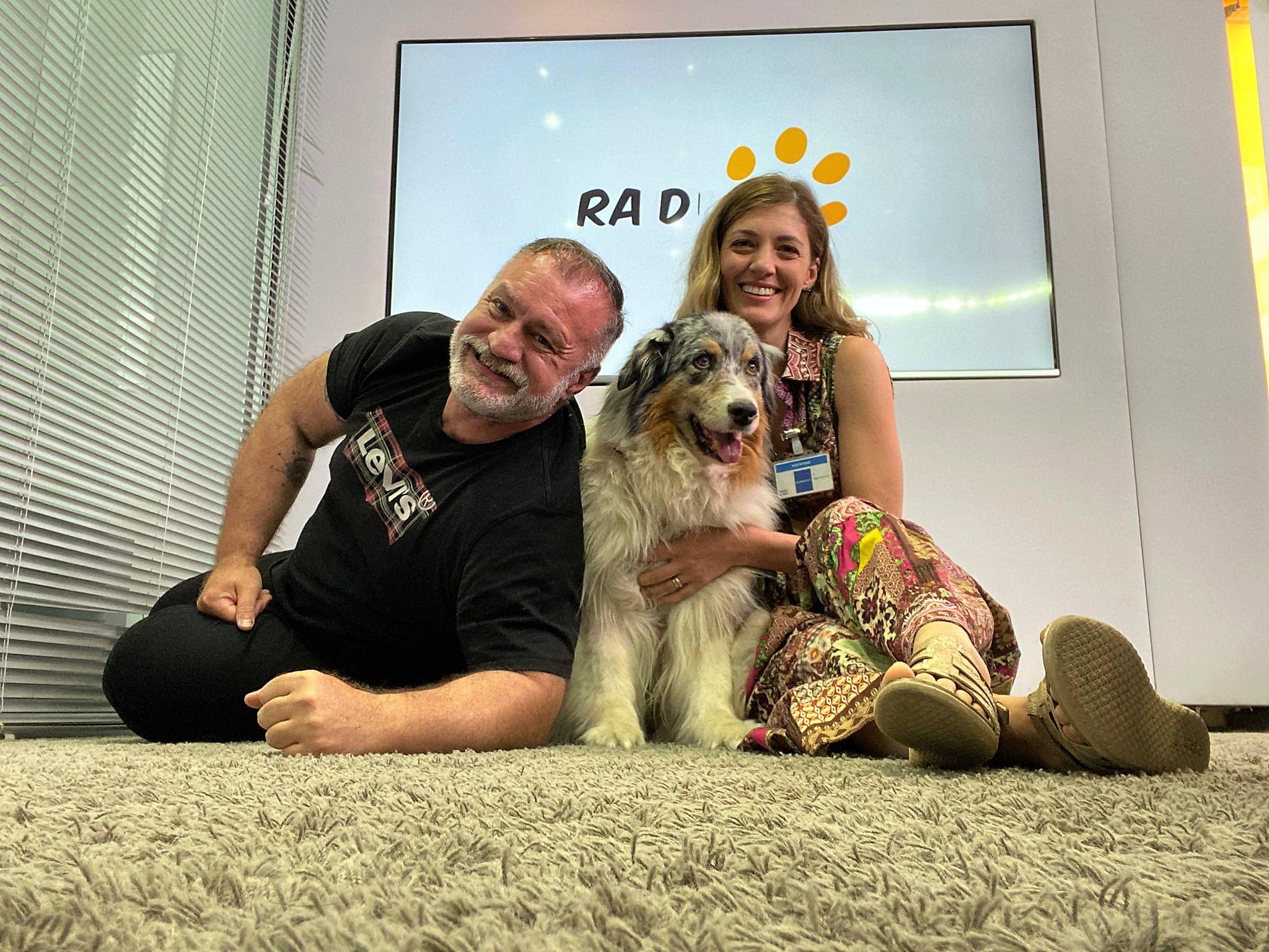 Irene Sofia e Pinta a Radio Bau