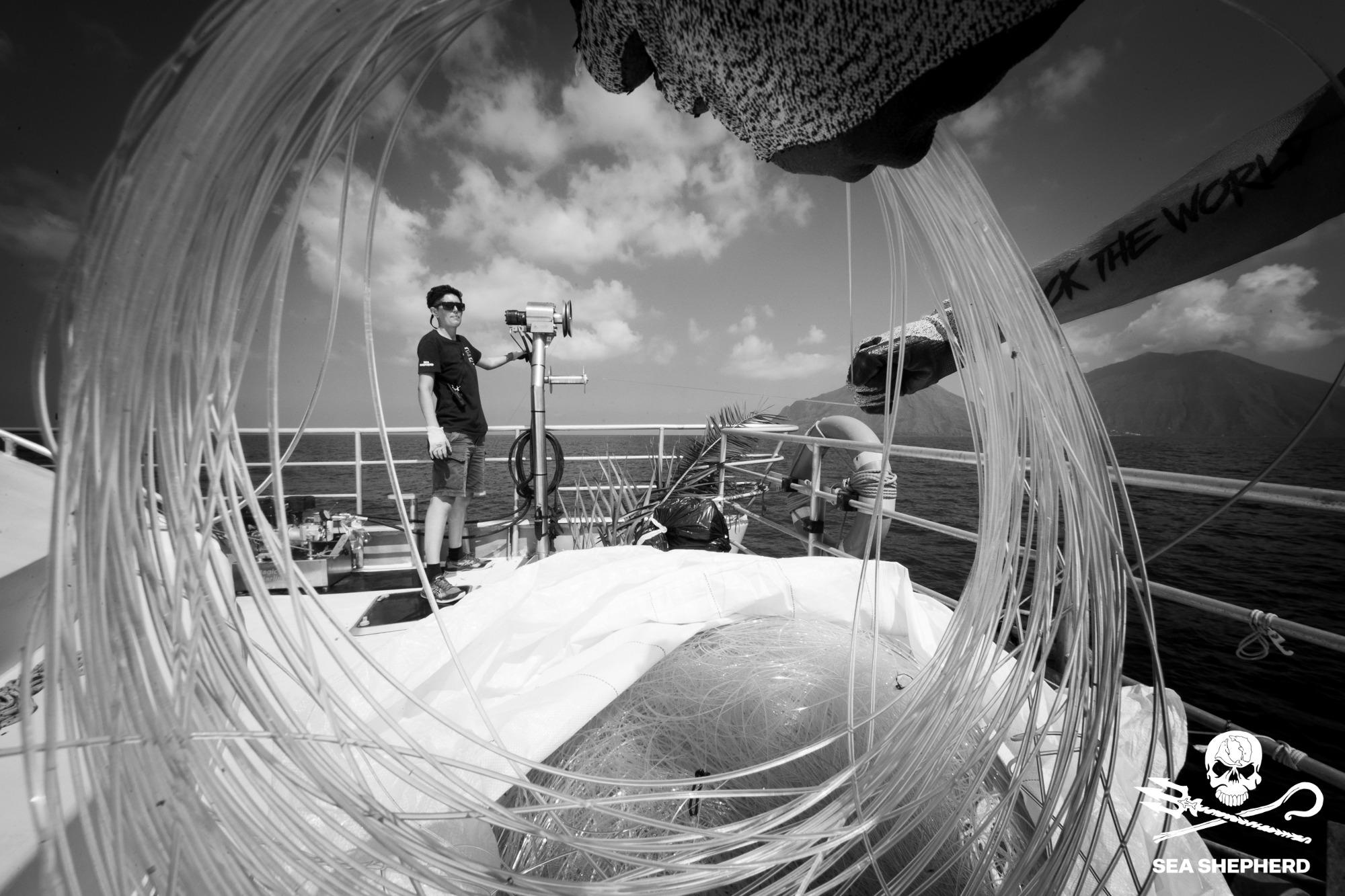 Operazione SISO 2021: Sea Shepherd nel Mar Mediterraneo raggiunge ogni anno nuovi risultati record.